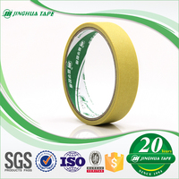 High temperature resistant automotive adhesive paper colored masking tape jumbo roll of china manufacturers