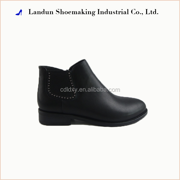 Factory directly supply city trends women polo ankle horse boots