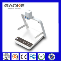 Factory supply 2014 new Visualizer with VGA & USB Output 5 Megapixels 1080P/720P HDMI GK-9500 desktop document camera
