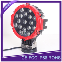 7'' 51W High Power LED Work Light offroad driving light