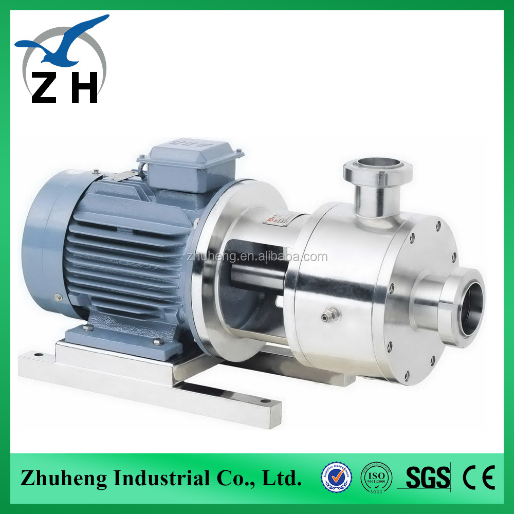 emulsification pump tank agitator mixer meat mixer grinder