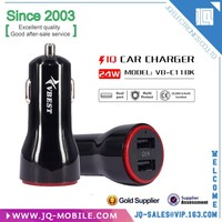New cell phone accessories quick portable 2 usb ports high power mobile phone car charger for Sony