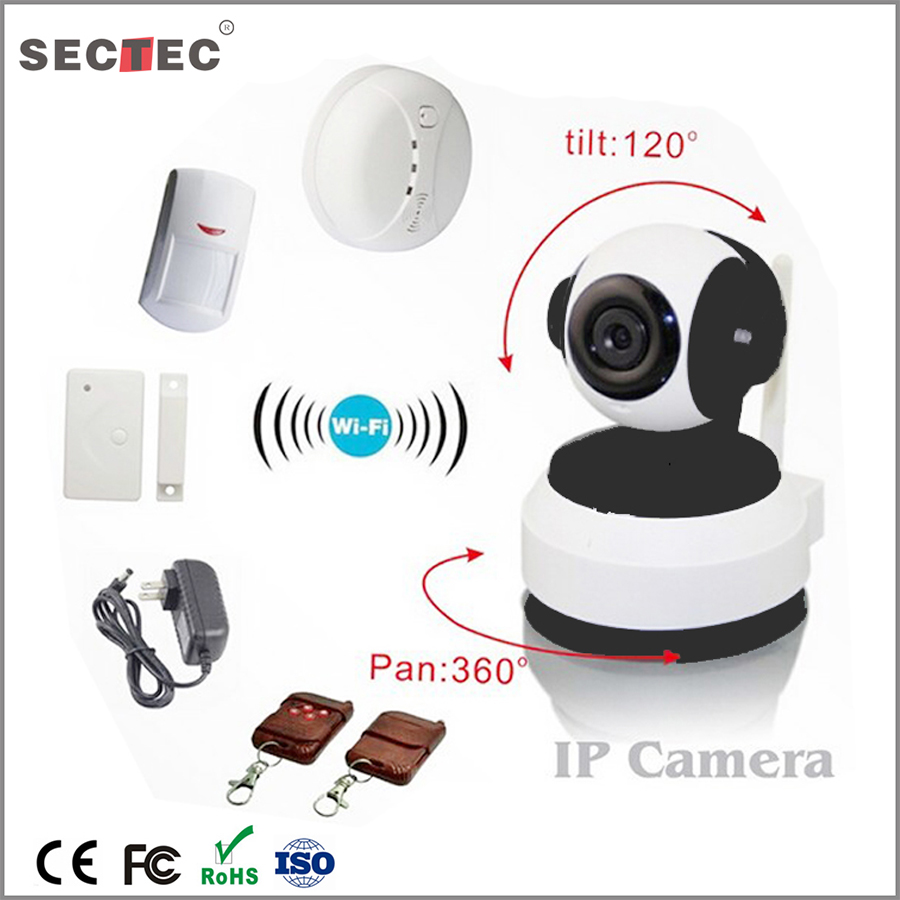 SECTEC CMOS Sensor and Mini Camera Style latest support onvif smart home security wifi smart home wifi p2p ip camera