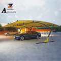 Factory price professional modern sun shade waterproof dual cars parking carport