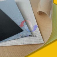 Adhesive Teflon Coated Fiberglass Cloth/Fabric