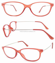 2016 fashion simple design plastic cute womens reading glasses