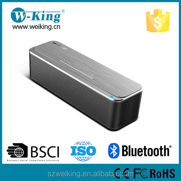 Sound systems equipment 16W aluminium bluetooth speaker V4.2 with DSP chipset