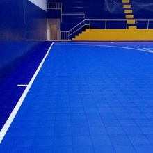 Indoor sports flooring Removable plastic PP flooring for futsal Court