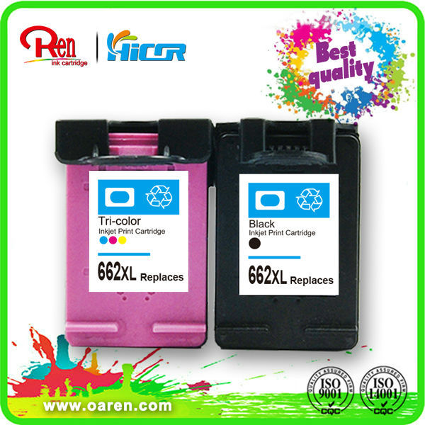 printing ink and cartridge for hp 61/301/122/662/650 printer ink