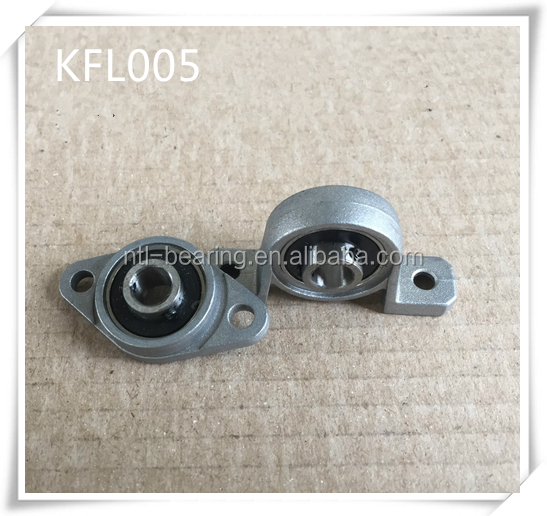 KFL005 zinc alloy pillow block bearing unit
