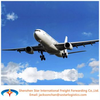 Cheapest air freight from China to TIRANA (TIA) ALBANIA international sea and air cargo transportation.