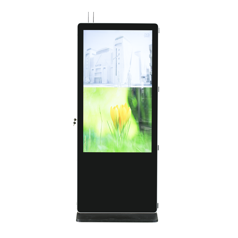 43 Inch Dual Side Screen LCD Digital Signage for Advertising
