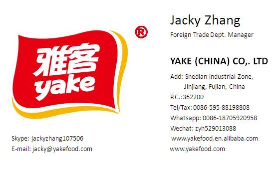 Yake 56g sugar free xylitol chewing gum manufacture with bulk packaging