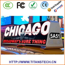 High resolution advertising outdoor P5 mobile truck led display/vehicle led sign/mobile video led sign