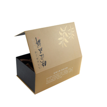 High quality cheap kraft paper gift packing box handmade recyclable paper gift box