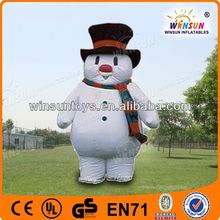 fashion indoor inflatable snow globes