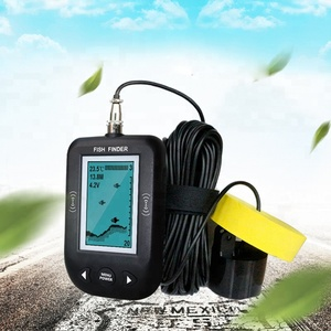 "3"" LCD Portable Sonar Fish Finder Alarm Help Find A Suitable Location for Fishing XF-02A"