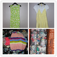 ladies cotton dress sorted used clothes/clothing bale summer wholesale