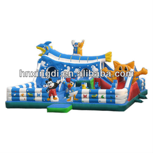 inflatable fun city game amusement park equipment