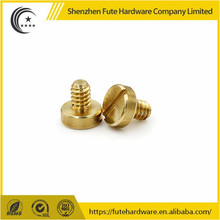 Brass Slotted Counter Sunk Head Machine Screws