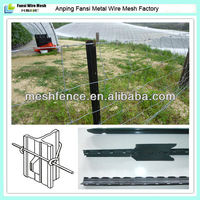strong toughness anti-corrosion long-life electric galvanized woven-wire livestock fence