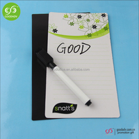 Best selling promotional gift magnetic whiteboard dry eraser whiteboard