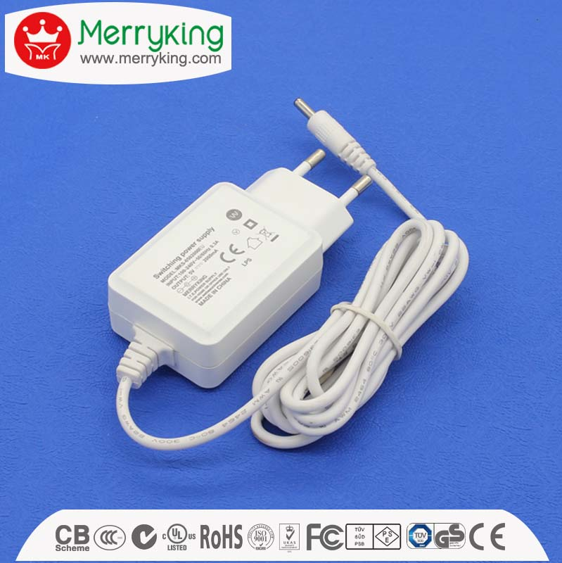 nice design long lifespan 220v ac to 20v 15v 12v 5v dc adapter 0.5a 1a 1.5a 2a power adapter with BS UK AU EU US plugs