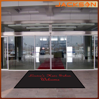 100% polyester printed entrance welcome door mat