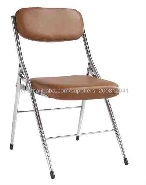 Pas Cher Salle De Bureau En Cuir Chaise Pliante