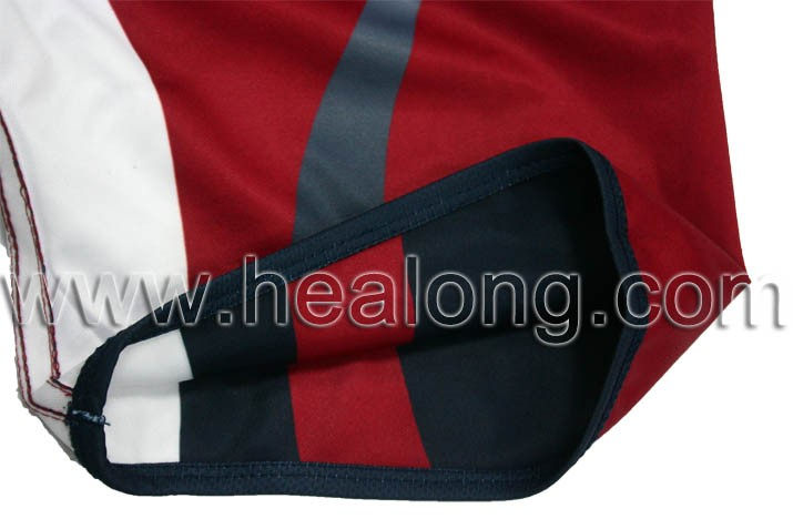 Sublimation Custom Team Set Double Wear Rugby Jersey Shirts Sportswear Clothing