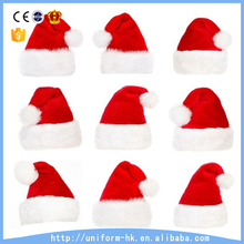 Custom Plush Santa Hat Top Quality Christmas Hat Supplier From China
