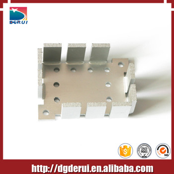 stamping and extrusion aluminum heatsinks fin with electronic pin