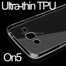 Ultra-thin TPU Case Cell Phone Case , for Samsung Galaxy On5 Transparent Case