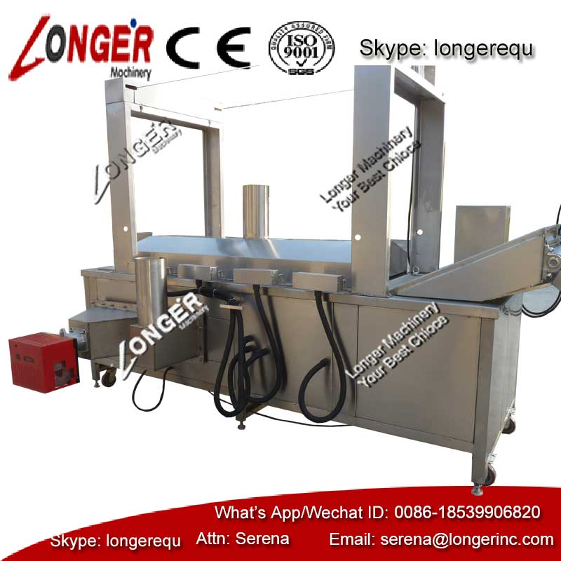 High Efficiency Almond Continuous Oil-water Fryer|Oil-water Fryer