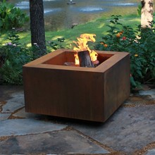 Decorative Corten Steel Chinese Outdoor Chimenea