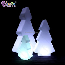 PE mini christmas tree inflatable christmas tree decoration with LED light