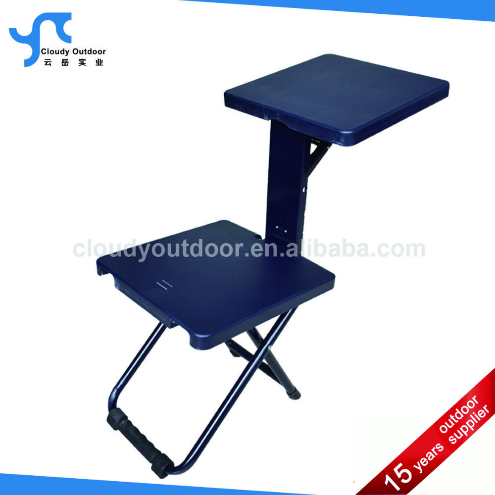 Folding study table and chair -