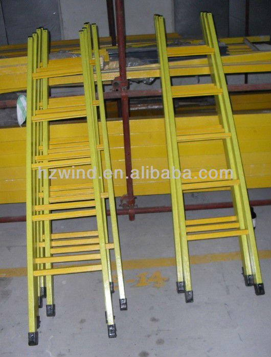 FRP trestle ladder GRP uphill ladder