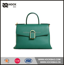 Wholesale 2016 china trendy ladies leather hand bag , pu leather handbag for free sample