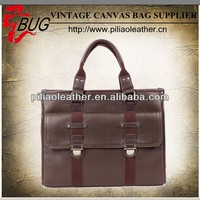 2014 newest canvas PU handbag/briefcase for men manufacture