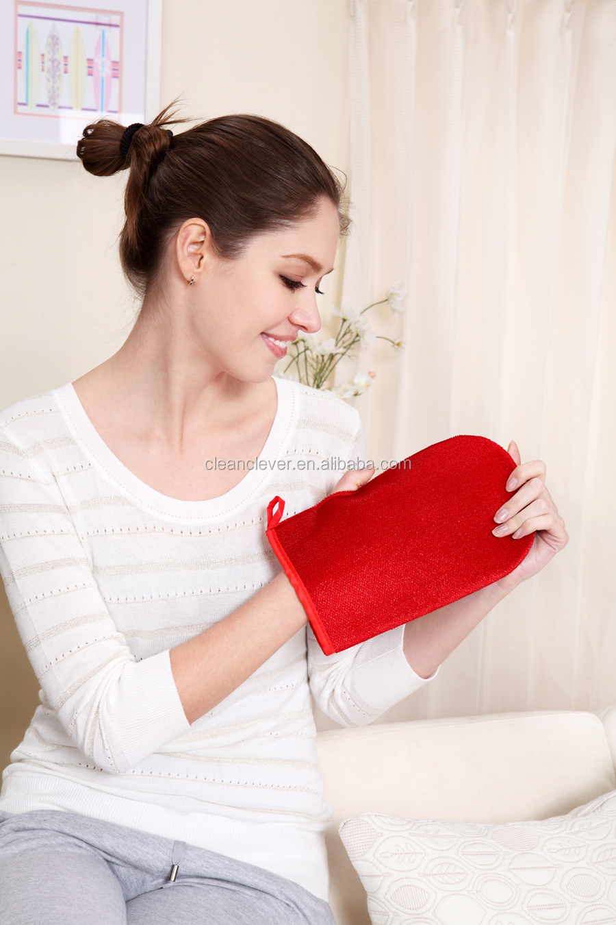 Double Sided Magic Fabric Clothes Dust Lint Brush