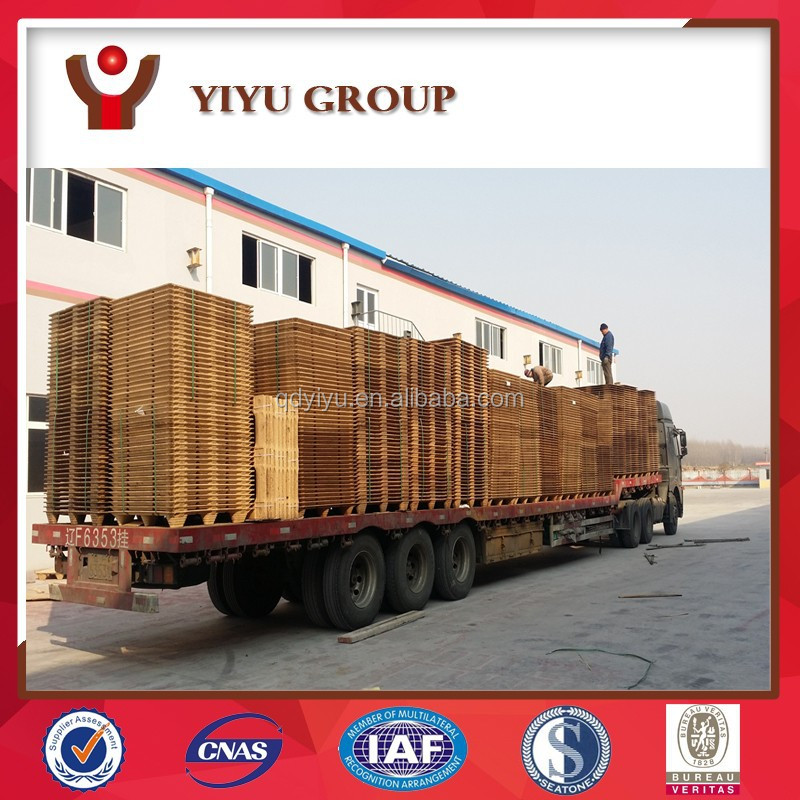 Waterproof non fumigation non quarantine standard size presswood pallet