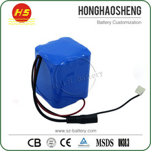 Lower price! Long cycle life battery 12v 7ah motorcycle battery lithium ion 18650 rechargeable cylindrical cell