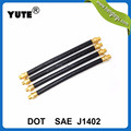 dot yute brand saej1402 3/8 inch truck air brake hose assembly
