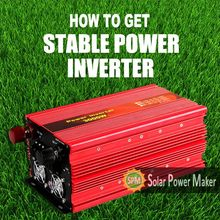 SPM solar power inverter modified sine wave inverter 1kv