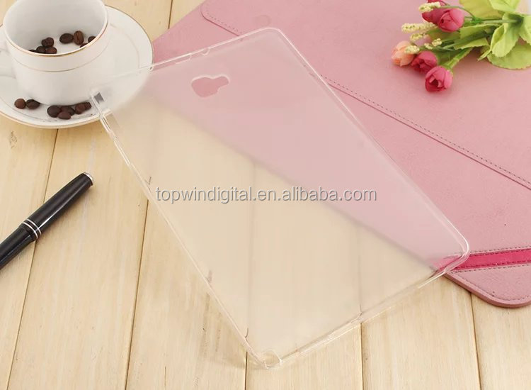 Super Slim Soft TPU Back Case Cover For Samsung Galaxy Tab A 10.1 P580 P585 Tablet