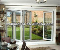 pvc plastic interior door bifolding door