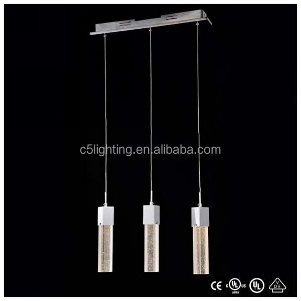 fashion seedy glass led pendant lighting