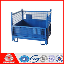 wire mesh frame collapsible cage pallet