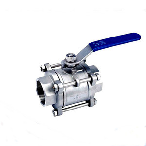 High Quality 3 Way Flanged Stainless Steel Ball Valve